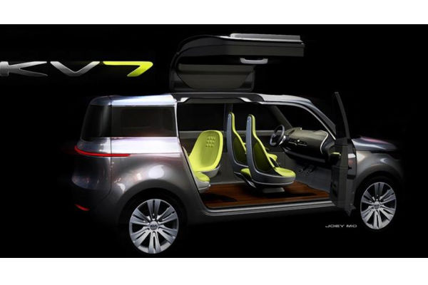 2011 Kia Kv7 Concept. The KV7 Concept is another