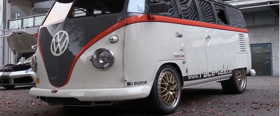 VW Bus T1 With Porsche Everything And 530hp Is The Best Taxi Ever