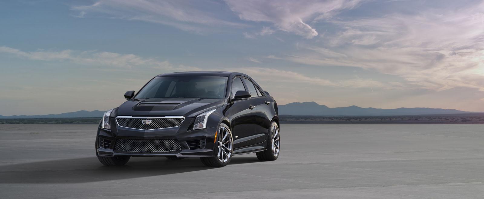 2016 Cadillac ATS-V Coupe & Sedan