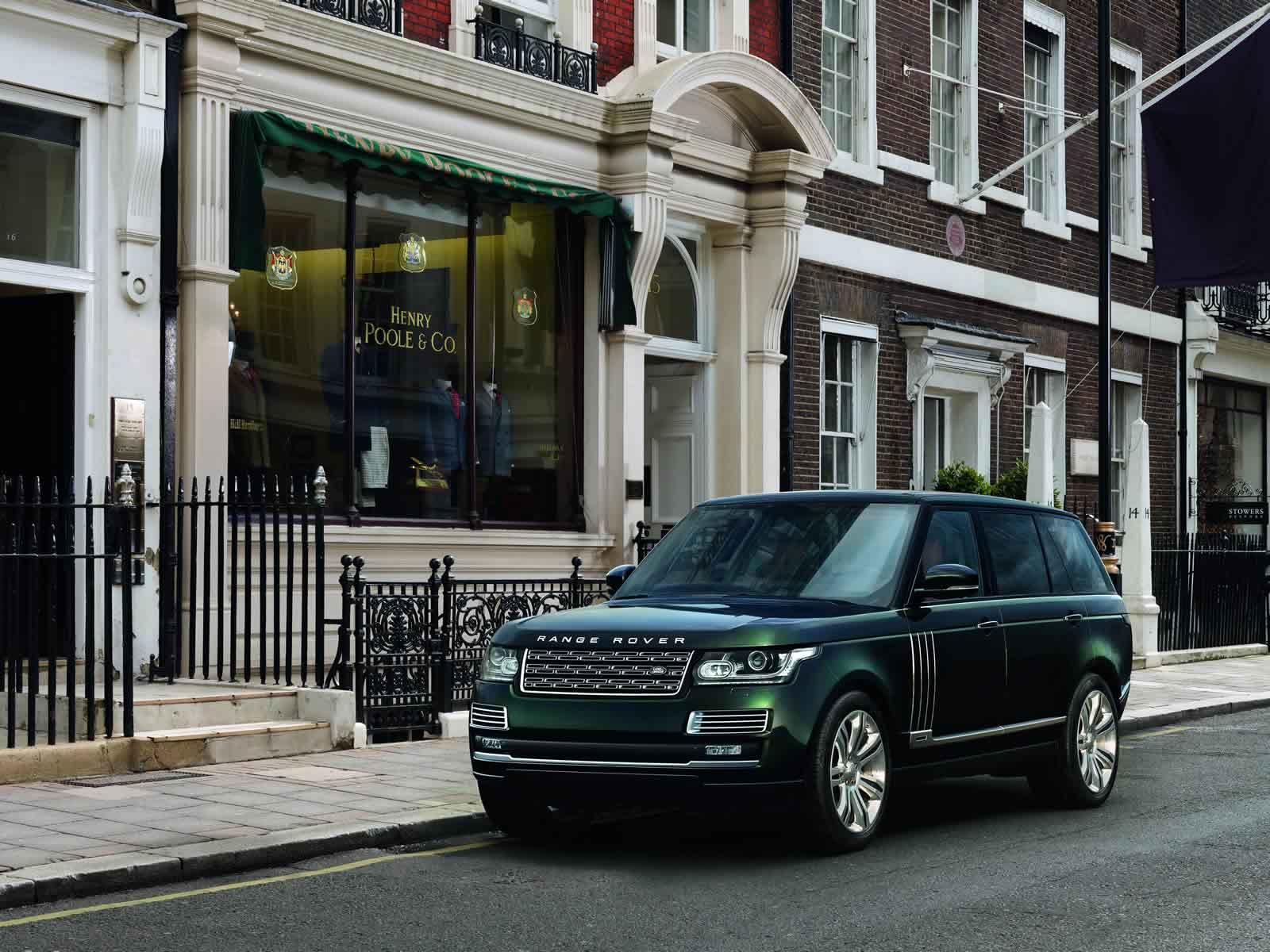 Land Rover Range Rover SVO and Holland & Holland