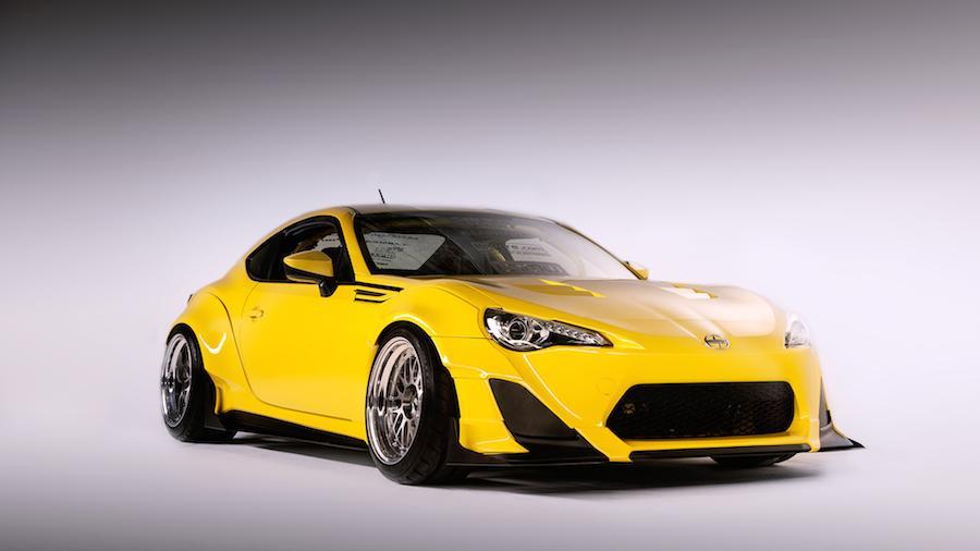 Scion revealed three specially tuned FR-S vehicles for SEMA