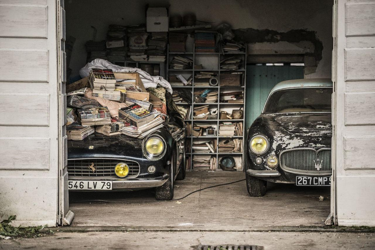 Epic Barn Find In France
