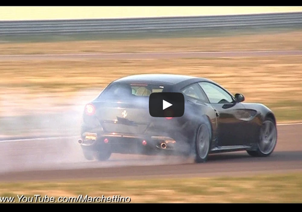 Ferrari FF Thundering On The Ferrari Test Track Is The Closes Thing To Cargasm (Video)
