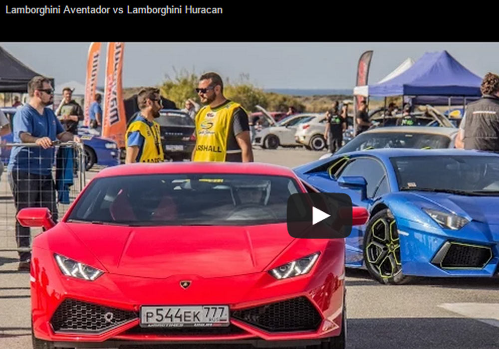 Lamborghini Huracan Is Not That Slower Than Aventador