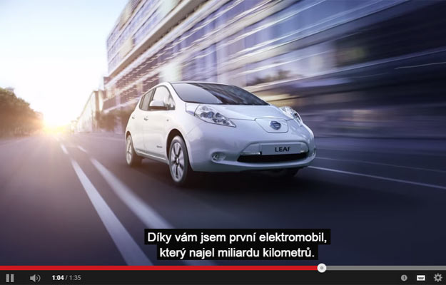 Nissan Leaf Passed Billion Kilometers – Nissan Made a Video About It