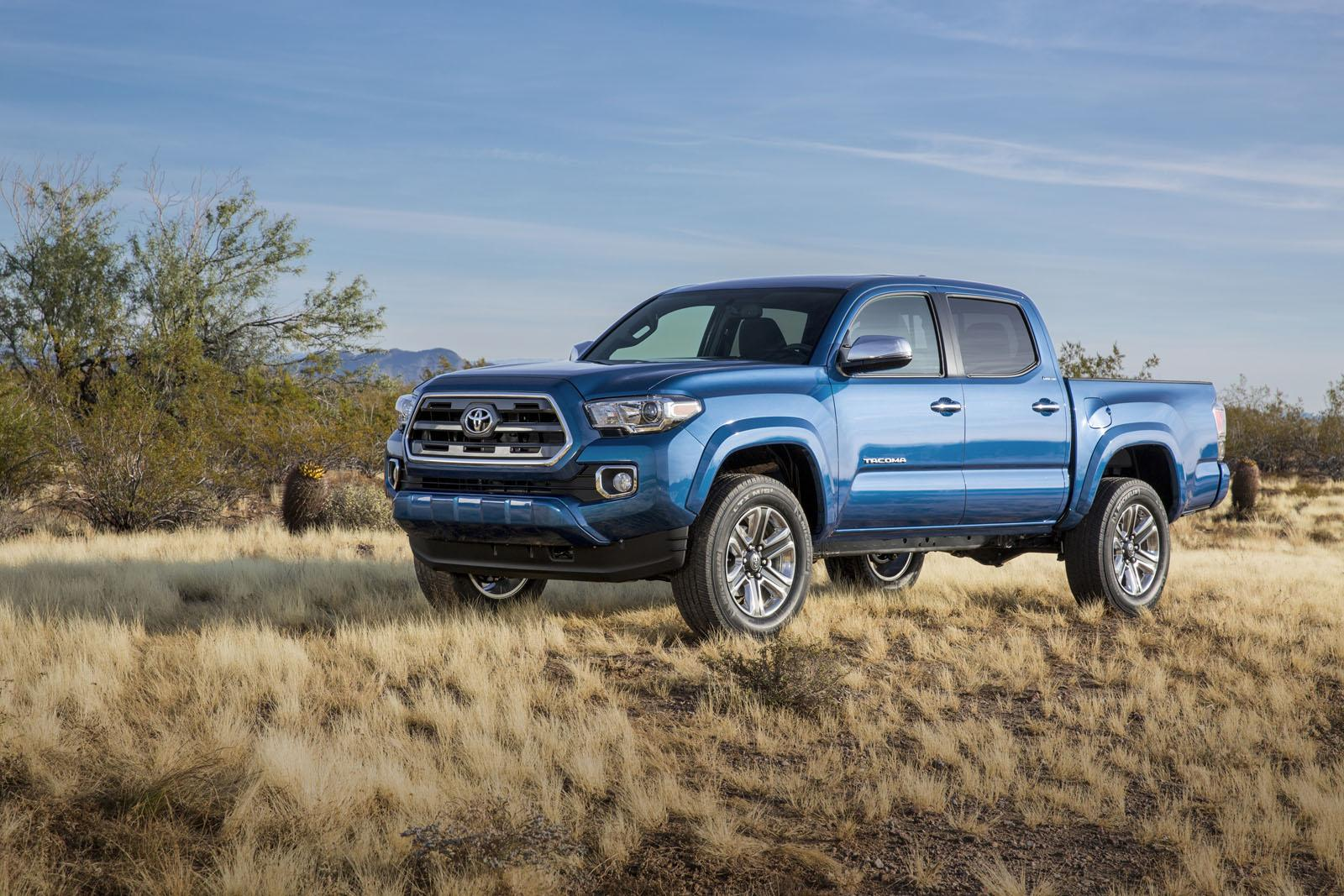 2016 Toyota Tacoma Might Be The Ruggedest And Meanest New Mid Size Truck Of The Year (video)
