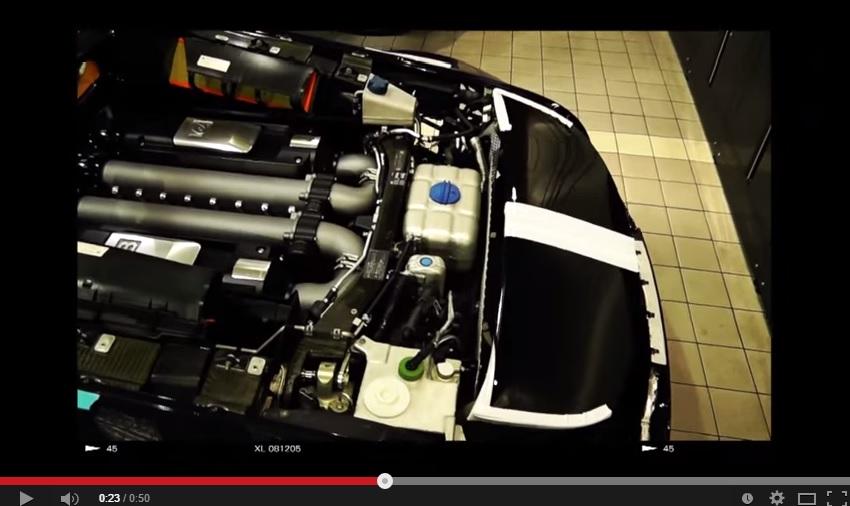 Bugatti Veyron Got A Custom Exhaust And It's Full Titanium