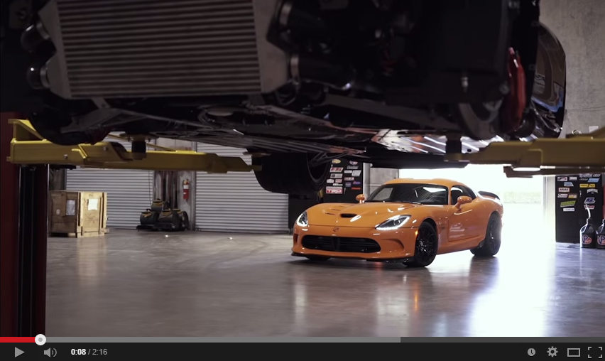 Impressive Viper Twin Turbo Shows What Its Engine Is Good For
