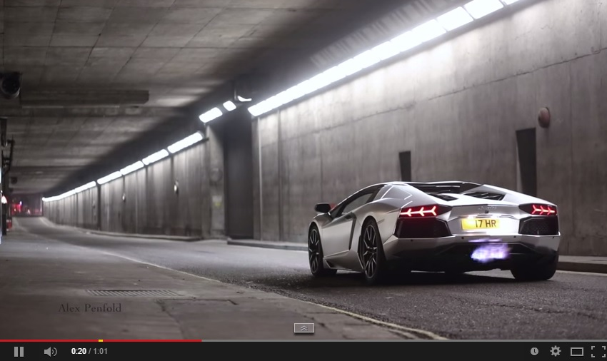Listen To This Aventador Then Hit Replay And Watch It, It's Awesome