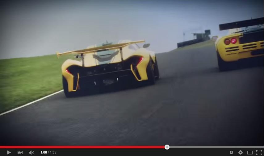 McLaren P1 GTR Chasing McLaren F1 GTR Is A Scene To Behold