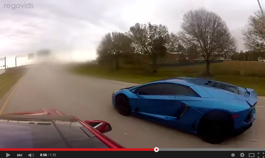 Tesla Model S P85D Couldn't Keep Up With The Aventador