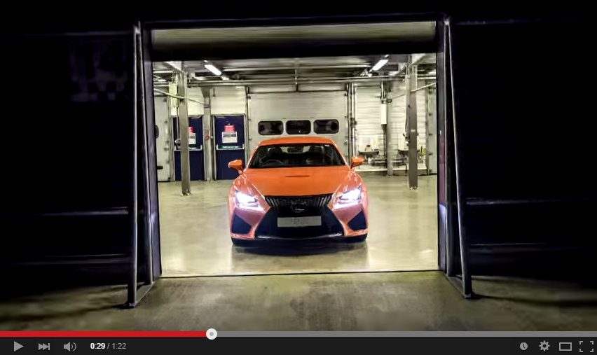 This Is Literally A 1.000 pictures Video And It Features The Mighty Lexus RC F Which You Have To See