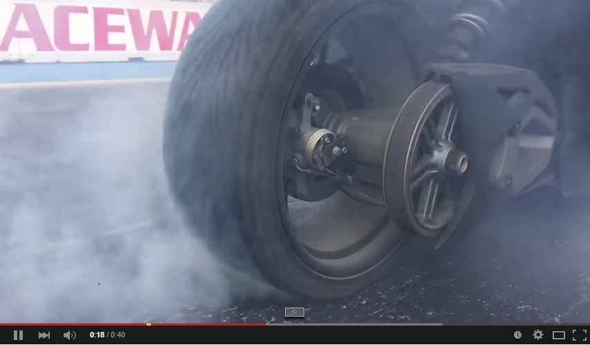 Polaris Slingshot Doing Burnouts In Slow Mo Will Excite You