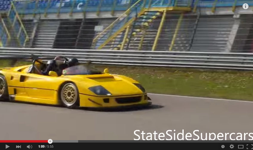 The Ferrari F40 LM Barchetta Finally On Track And It's Awesome