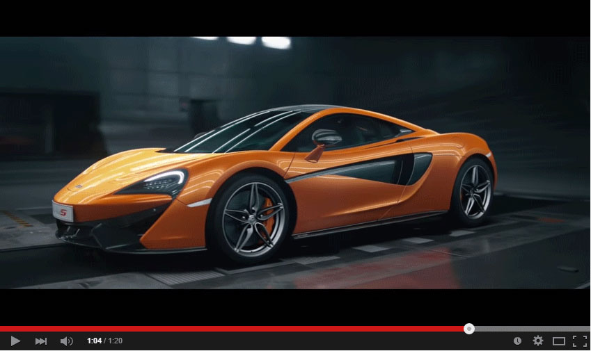 McLaren Released Their New 570S And Presented It In A Wonderful Video