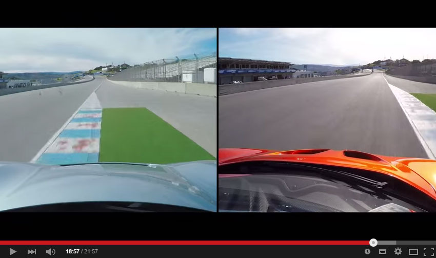 Motor Trend Channel Finally Tested The McLaren P1 And The Porsche 918 Spyder Head To Head