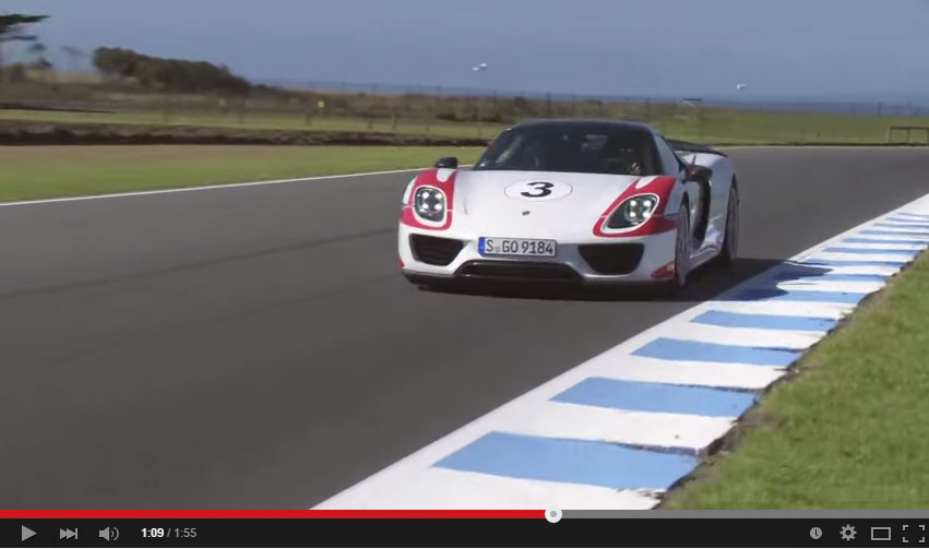 The Porsche 918 Spyder Sets Up Yet Another Record