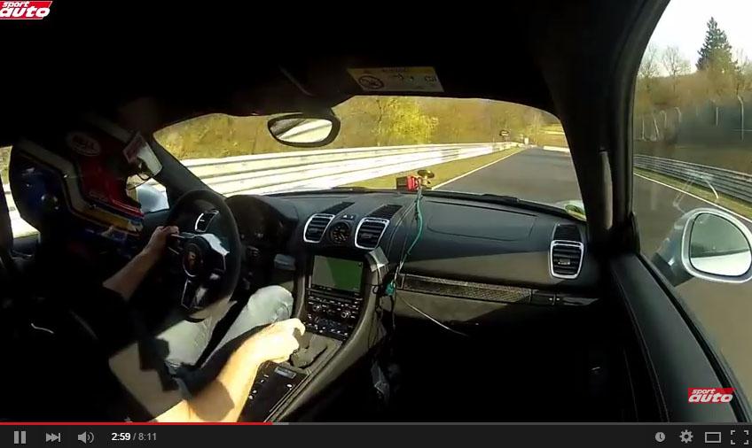 The Porsche Cayman GT4 Is Faster Than The Lamborghini Murcielago 670-4 SV Around The 'Ring
