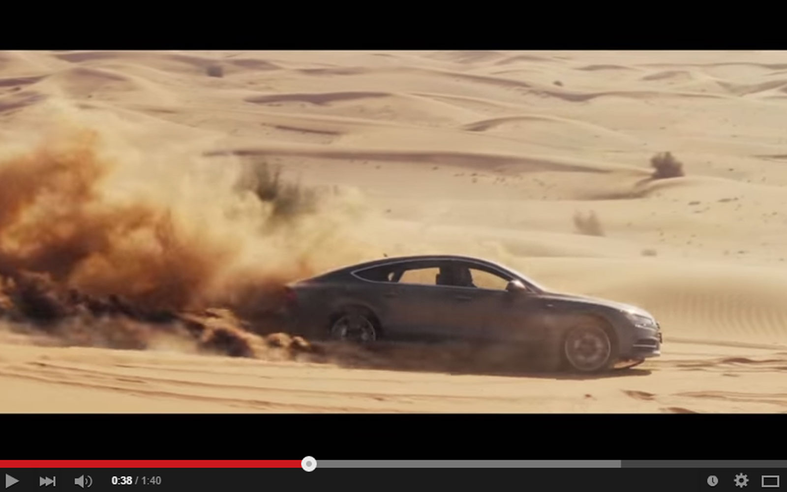 The Audi A7 Sportback On The Sand Dunes Is A Wrong Thing To Do But It's Awesome