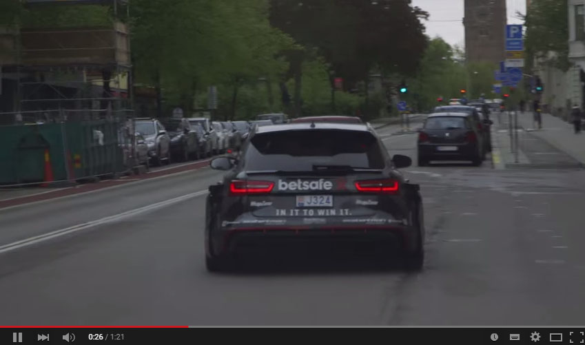 Jan Olsson Used His 950 HP Audi RS6 DTM As A Car For Uber