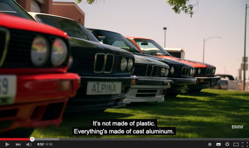 The BMW 3 series Celebrates its 40th Anniversary