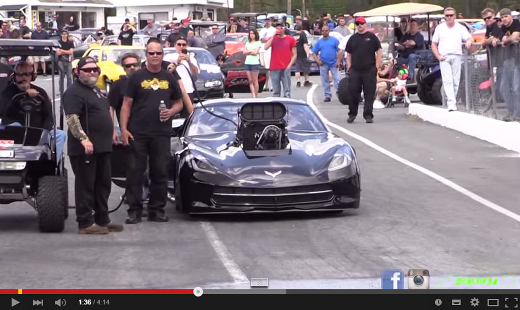 This Is The Chevy Corvette C7 With 3.500 HP