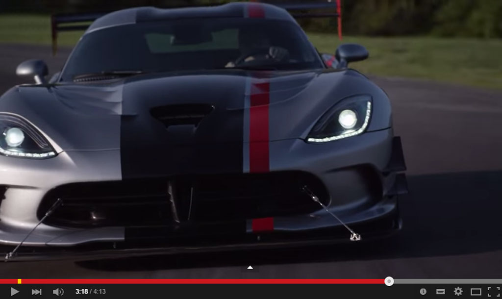 This Is The 2016 Dodge Viper ACR And It Is The Best Road Going Viper Yet