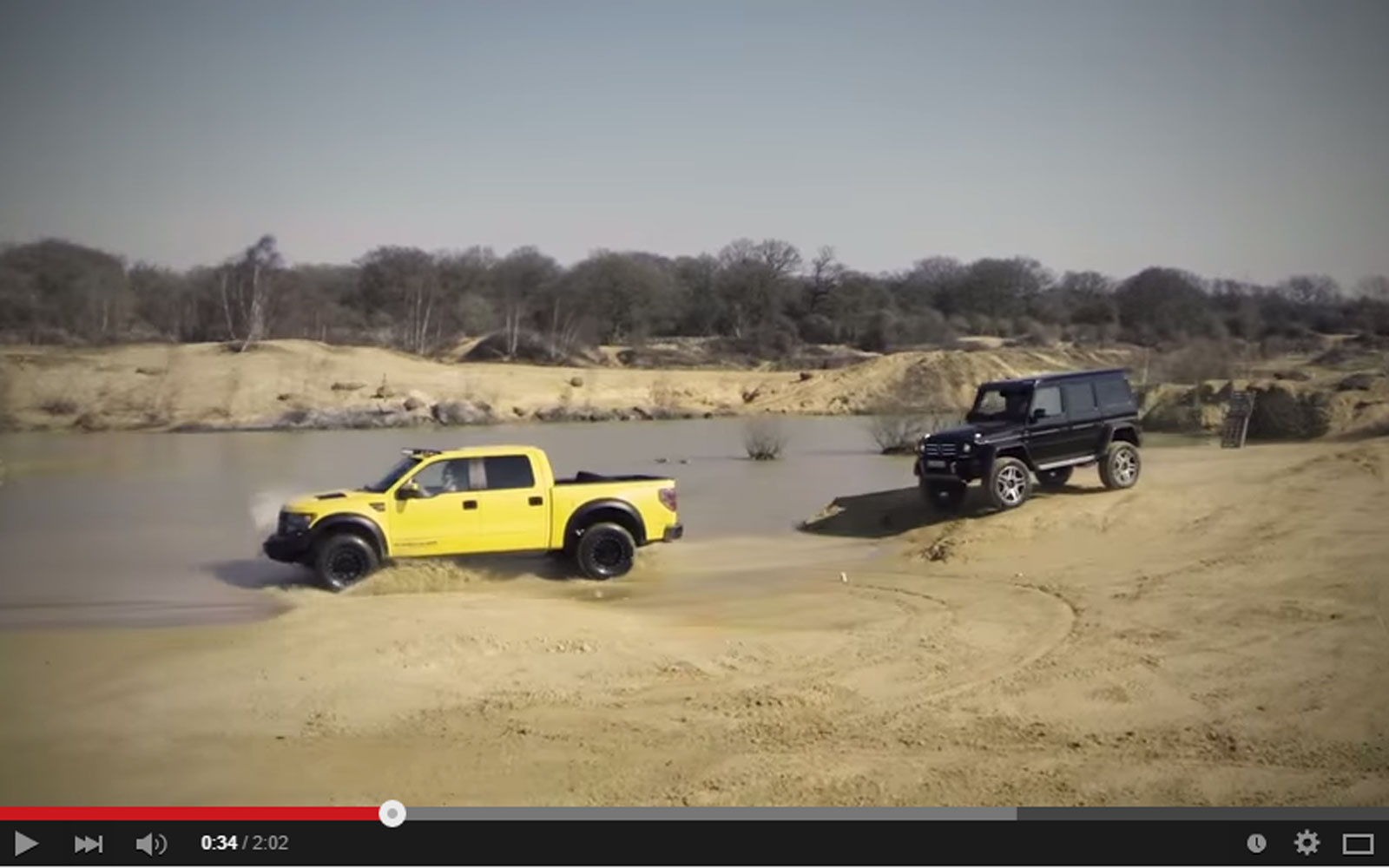 Top Gear Released A New Magnificient Video With The Raptor And The G500 On YouTube But…