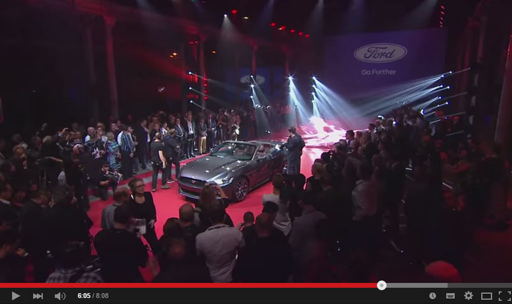 This Is How Ford Revealed The 2015 Mustang To The World