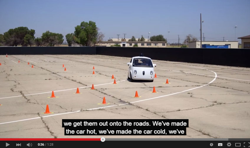 Google Released A New Video About Their Newest Autonomous Car And It's Awesome