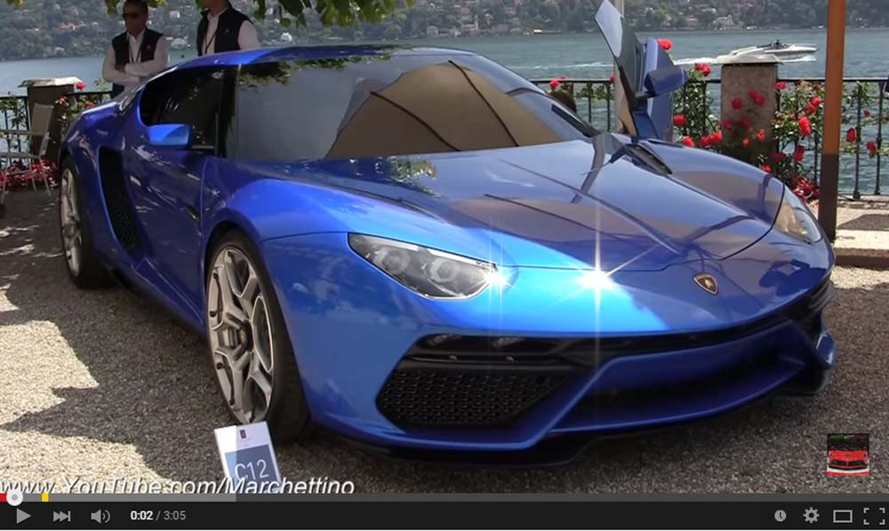 A Magnificent Lamborghini Asterion LPI 910-4 Is Up And Running