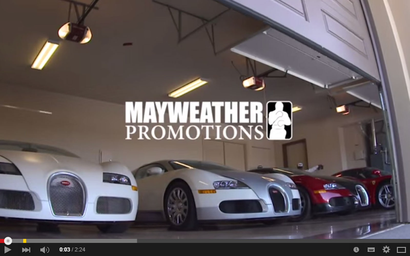 Floyd Mayweather Private Car Collection Is Off The Hook