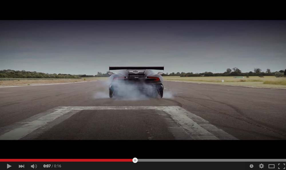 This Is The First Footage Of A Remarkable Aston Martin Vulcan Driving