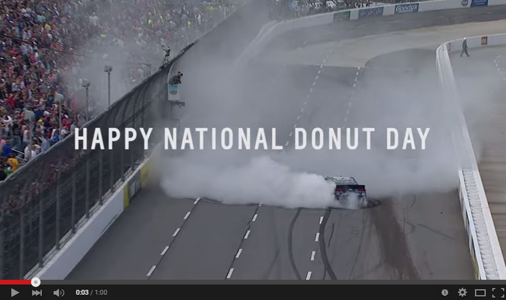 Chevrolet Celebrated The National Donut Day By Releasing A Video Of A Race SS Making Donuts