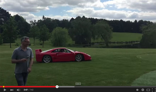 This Happens When You Are 18 Years Old And Have A Ferrari F40 And A Ferrari Enzo