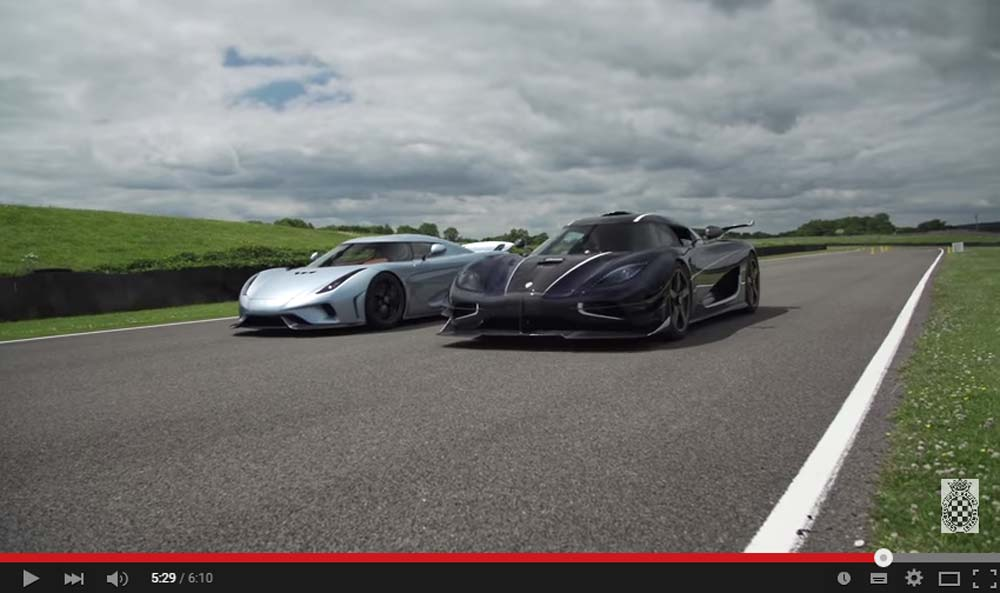 This Is The First Time We See The Amazing 1.500 HP Regera Drive
