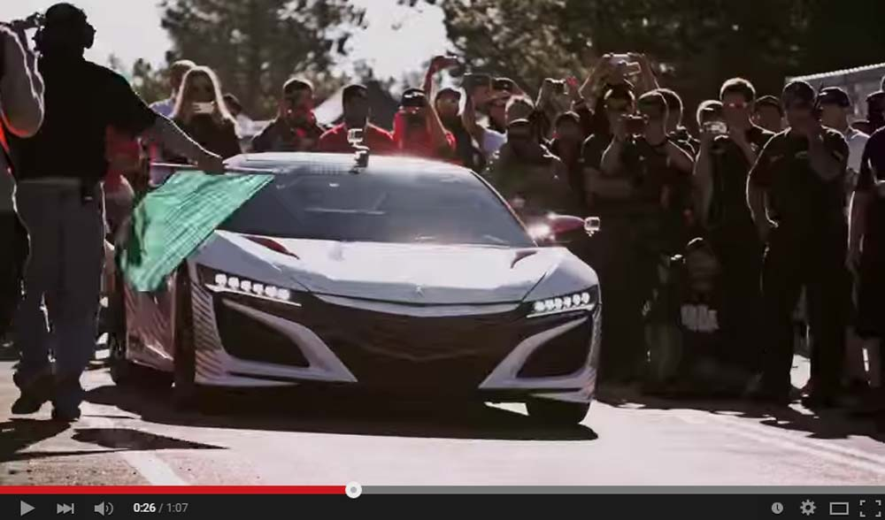 The New Acura NSX Hitting The Pikes Peak Is Epic Stuff To Watch