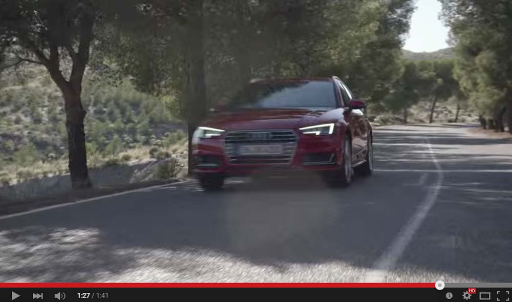 The 2016 Audi A4 Is Here And It Looks A Bit Boring