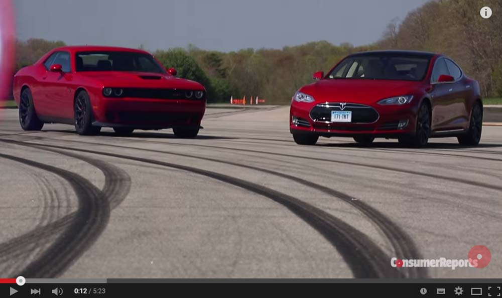 The Astonishing Model S and The Challenger Hellcat Comparison Shows Us A Few Things We Did Not Know