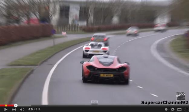 All Three Hypercars In An Epic Showdown
