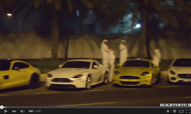 Qatar Elite Team Shows Up Their Vehicles In This Astonishing Video