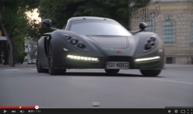 The Sin R1 Is A New Supercar And It Feels It Could Do Some Damage If Anyone Buys It