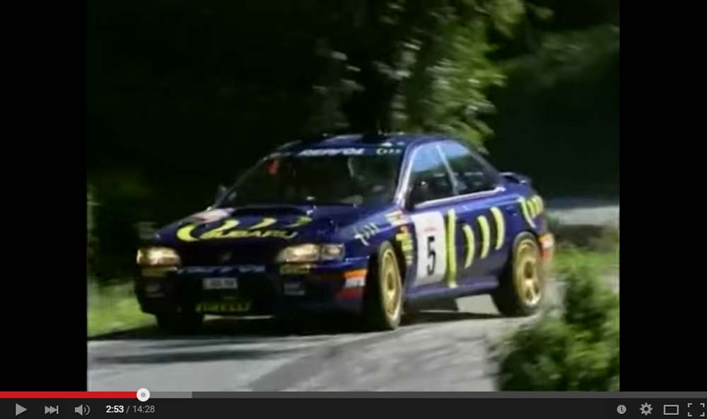 This Is How It Looks When A Magnificent WRC prepped Subaru Impreza Takes On A Race