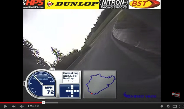 This Is The Fastest Bike Lap On The 'Ring And It's Scary