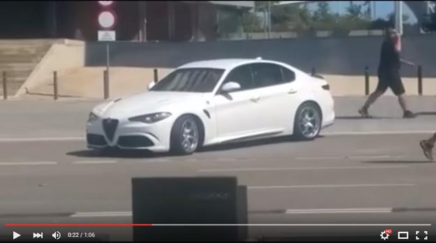 The Alfa Romeo Giulia Finally Caught In The Wilderness