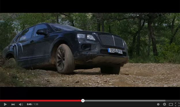 Bentley Tests The Bentayga In The Epic Off Road Scenery