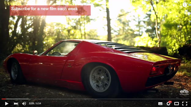 The Lamborghini Miura Is So Beautiful You'll Feel Shivers Down Your Spine