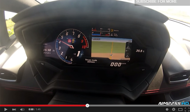 The Lamborghini Huracan Accelerates To 124 With Almost No Effort At All