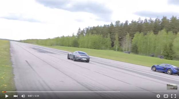 The McLaren 650S Drag Racing Mercedes AMG GT S Is A Sight To Behold