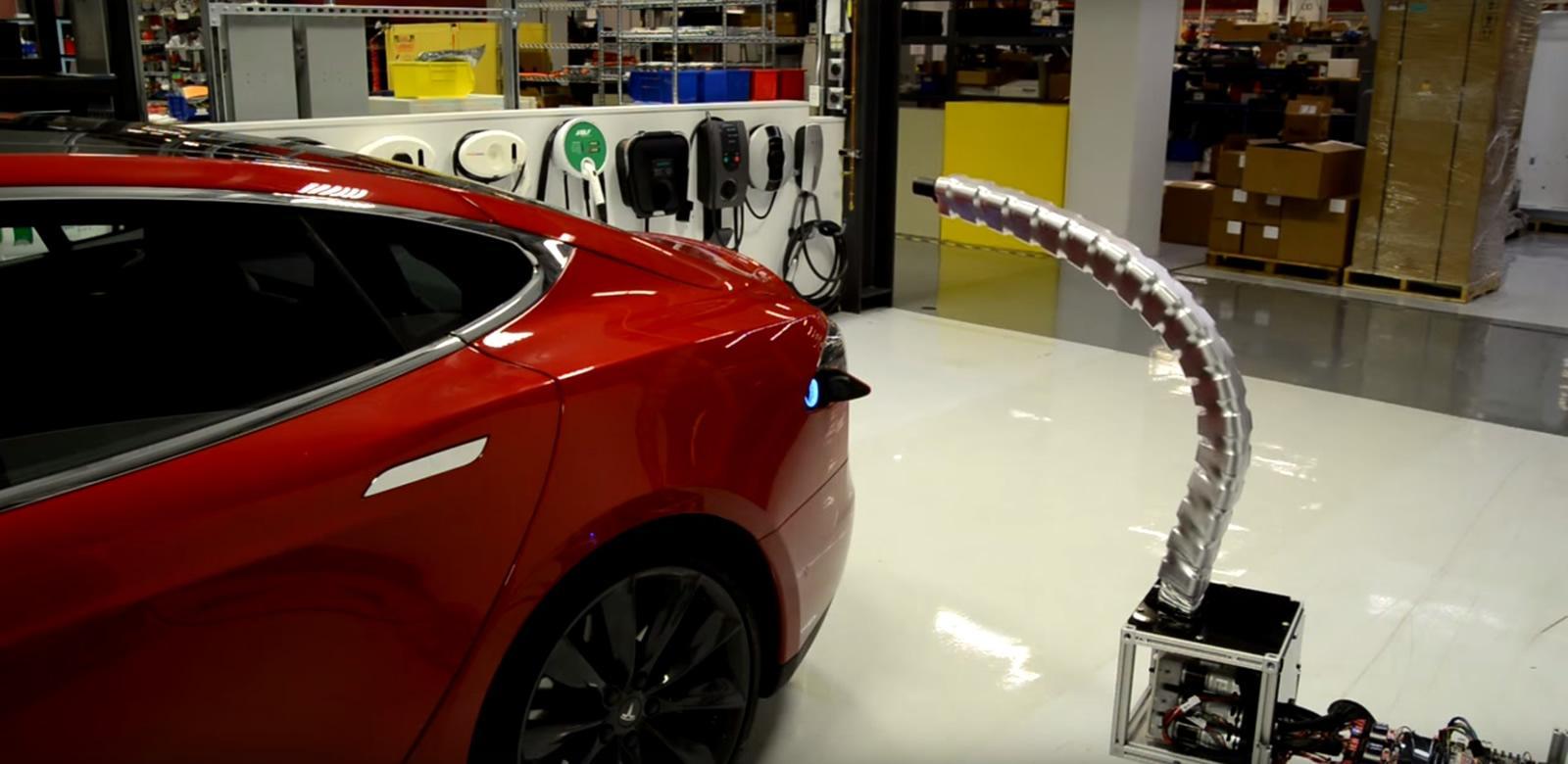 Tesla Motor Company Revealed The Creepy Robot